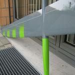 Detail Tragfläche-/Rumpf