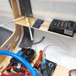 Detail RC-Empfänger A Montage/Platzierung
