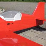 Fertiges Modell (aber noch ohne Decor und Cockpit-Ausbau!)