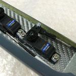 Höhen-/Seitenruderservo Montage-/Anlenkung