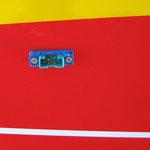 Servo-Anschlussstecker am Rumf für Höhe