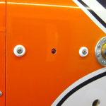Motorhaube linke Seite, LED-Zündung-/Z.schalter, Betankungsventil