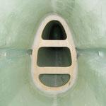 Rumpfverstärkung bei Tragflächen-Hinterkante
