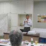 高岡社長の講義