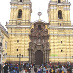 Kirche San Francisco in Peru