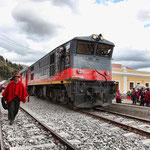In Ecuador mit dem Zug reisen - ein Erlebnis!