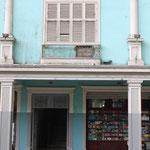 Kolonialhaus an der Küste Ecuadors