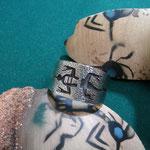 Tufa & Overlay    Lizard design