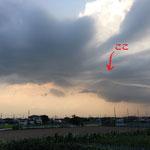 「ここ」という場所に、黒い雲が吸い込まれて消えていったそうです!!!凄いね!!!