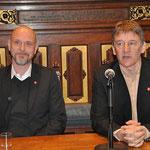 met burgemeester Patrick Janssens