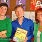 Frow Steeman, Jelle Cleymans en Karin Jacobs