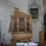 Orgel von Anton Bayer um 1750 Rosenheim Heilig Geist Kirche