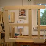 verzapfte Rahmenkonstruktion
