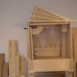 Nachbau der Bayer Orgel Windanlage