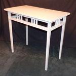 Tischchen Kiefer um 1910 83 cm breit 46 cm tief 76 cm hoch  250 €