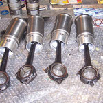 cylindre et pistons