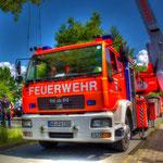 DLK 23/12 der FF Wolfenbüttel beim Tag der Retter in Wolfenbüttel