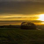 Sonnenaufgang über Mariental Dorf