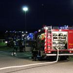 Gemeinschaftsübung FF und THW in Hoiersdorf