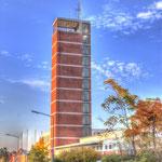 Schlauchturm der Feuerwehr Technischenzentrale LK Helmstedt