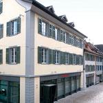 Erweiterung Raiffeisenbank in Frauenfeld, Aussen