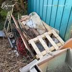auch im Garten können sich schnell Schmutz oder Choas Ecken bilden