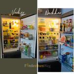 Kühlschrank vorhernachher Bilder