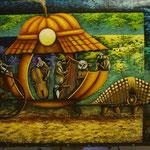 replica del anton monsalve   100 x 70cm