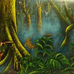 las amazonas   130 x 90cm