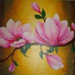 magnolias   80 x 65cm