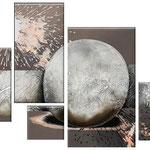 explocion lunar   120 x 90cm