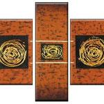 juego de ocres   120 x 80cm