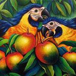 fruta de la pasion   120 x 80cm