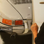 Arbeit an Porsche 911