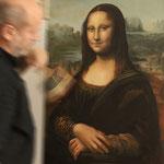 Arbeit an Kopie der Mona Lisa