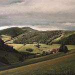 Arbeit an Landschaft Schwarzwald