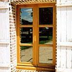 Fenêtre double vitrage Percherone