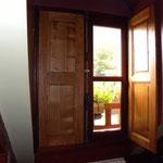 Fenêtre double vitrage avec volets intérieurs