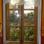 Fenêtre double vitrage avec récupération espagnolette