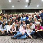 Soirée de Gala à Edimburgh (Écosse) avec les enseignants de Vision Naturelle du monde entier : États-Unis, Brésil, Allemagne, Italie, Espagne, France, Belgique, Suisse, Bulgarie, Slovaquie, Australie, et bien sûr Royaume-Uni !