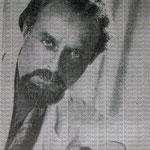 Fotografia presentada en algunas de sus partituras