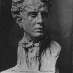 Busto, autor Alfred Pina expuesto en el salon de Paris