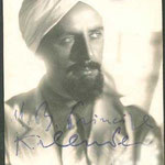 Caracterizado como El autentico principe Musulman Kalender