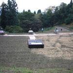川口町震災復興4周年事業(08年)震央の場所で復興のシンボルとして大型サーチライトを打ちました)