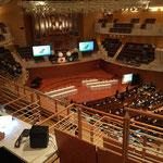 新潟市政令指定都市移行10周年記念式典での同時通訳を担当しました。(17年)