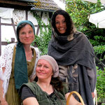Trio der Unschlagbaren. Arme Frau und Sybille 1 und zwei