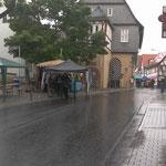 Regen in allen Variatioen: Starkregen, Dauerregen, Aufregen, Abregen ;-)
