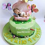 Торт з ангелочком.вага від 3кг