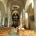 La nef romane - Collégiale de Saint-Léonard-de-Noblat (visite avec le Pays d'art et d'histoire en cours)