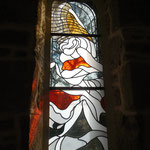 Vitrail contemporain de Jacques Victor Giraud (2014) - Eglise de Saint-Gilles-les-Forêts